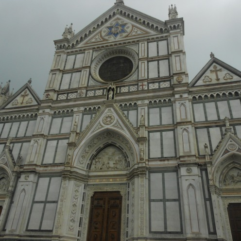 Basilica Di Santa Croce Florence Italy