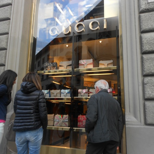 Gucci shop in Florence