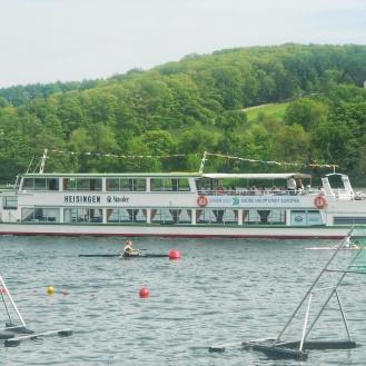 The now clean Baldeneysee Lake in Essen