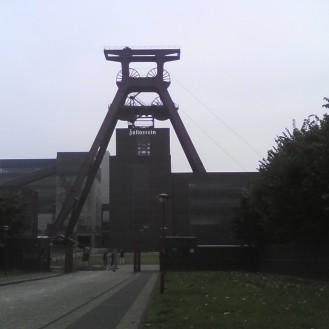 Old mine in Essen Zeche Zollverein