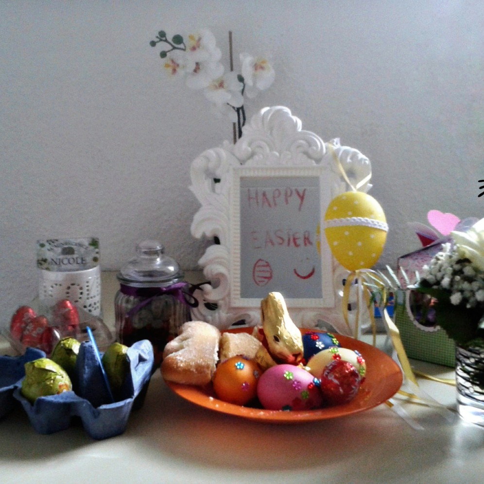 My Easter Table in Essen, Germany