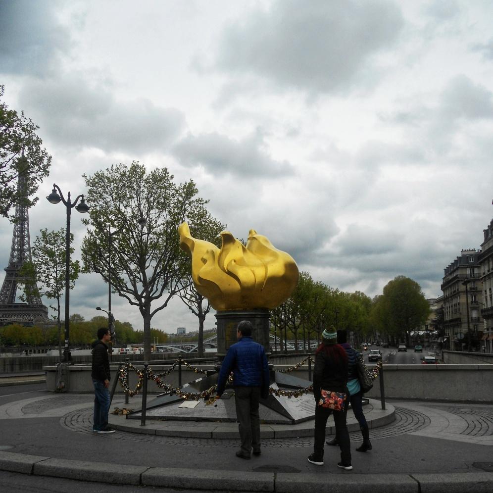 Flame of Justice & unofficial Princess Diana memorial