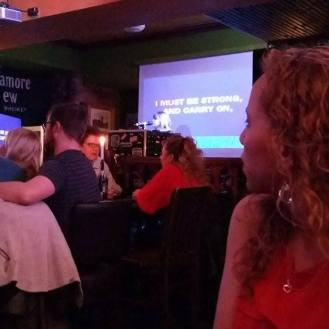 Fitzpatricks Karaoke section