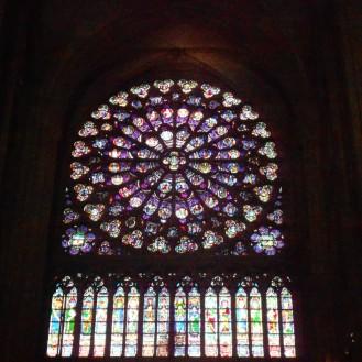 Inside Notre Dame Cathedral Paris