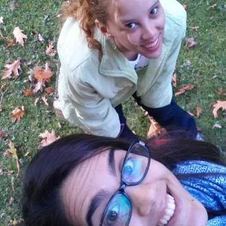 Maria and I at Villa Hugel