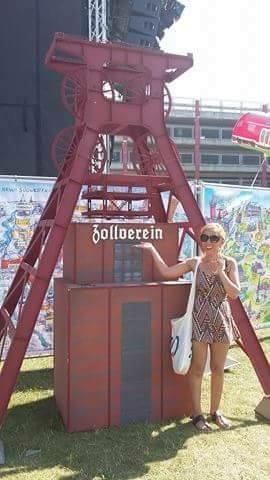 A mini scale zollverein at NRW birthday celebrations
