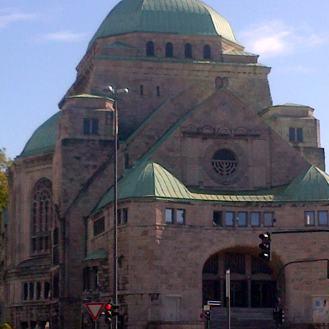 Essen old synagogue now a tourist site