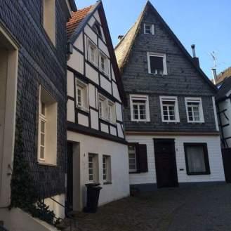 fachwerk houses in Kettwig