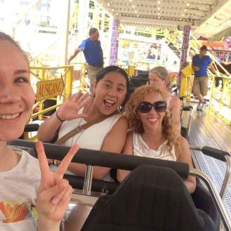 roller coaster at gruga park