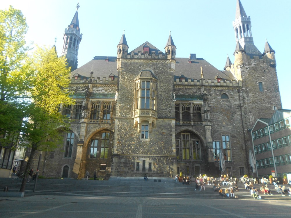 City hall in Aachen