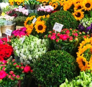 Flower market Netherlands
