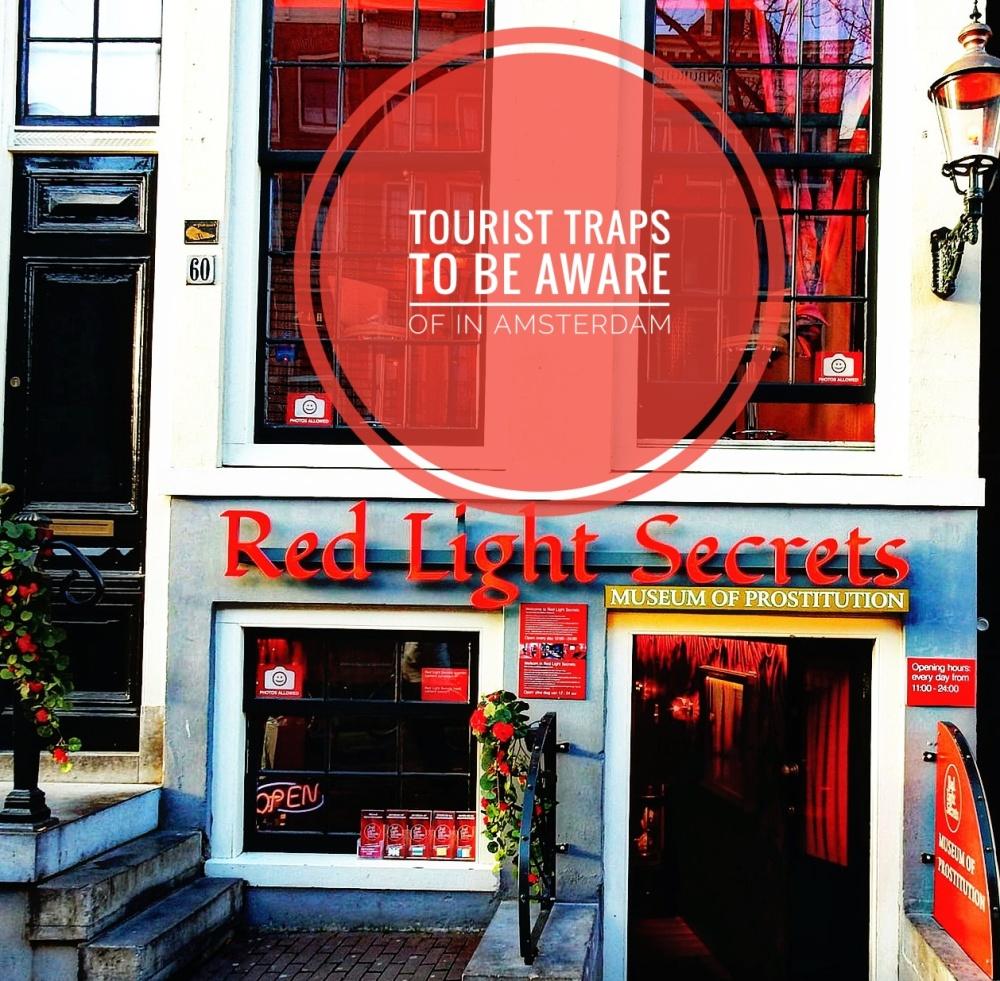 tourist traps in Amsterdam