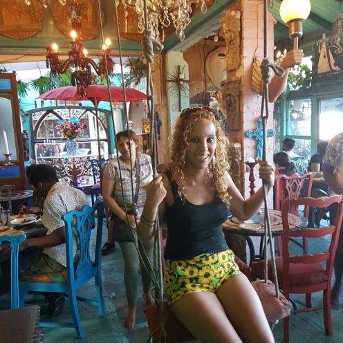 Inside of Cape to Cuba