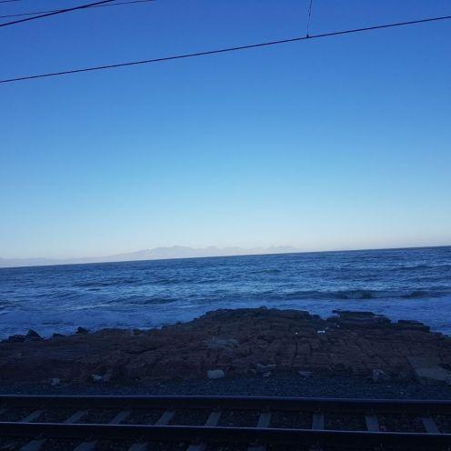 Kalk Bay rail track