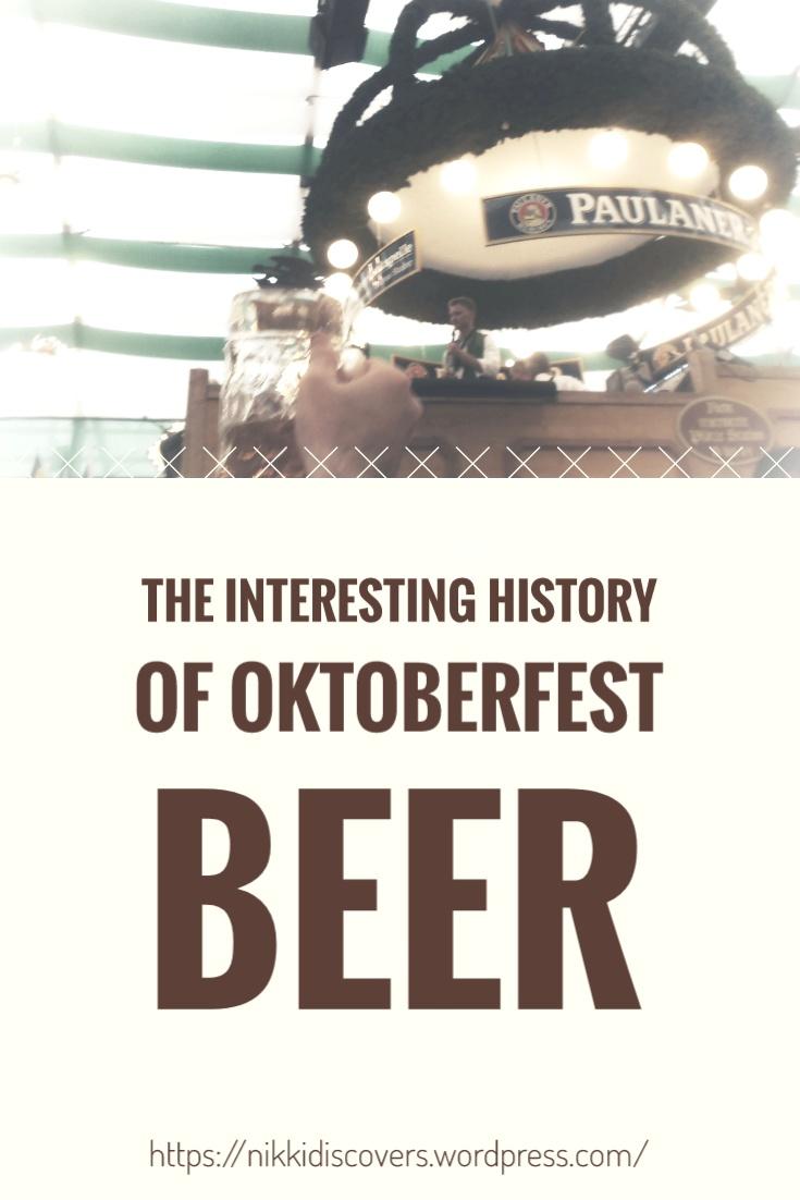 Oktoberfest beer history