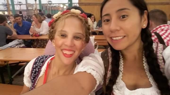 Elian and I at Oktoberfest