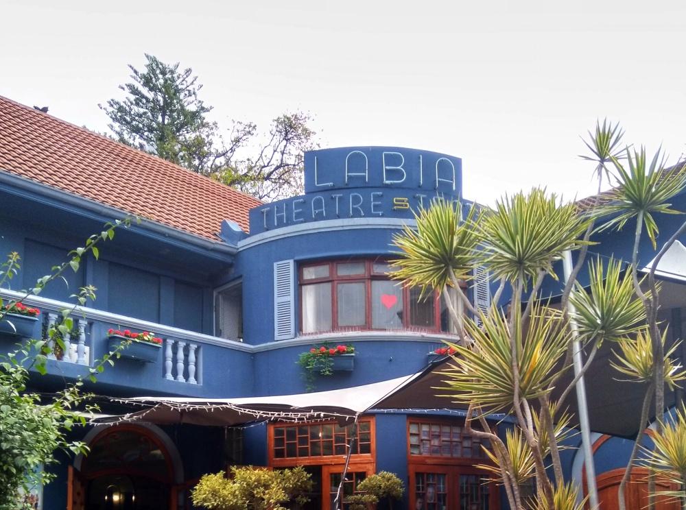 The Labia theatre in Cape Town