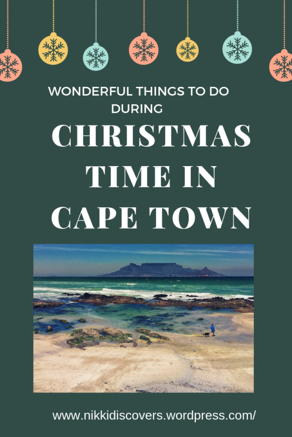 things to do during christmas time in Cape Town