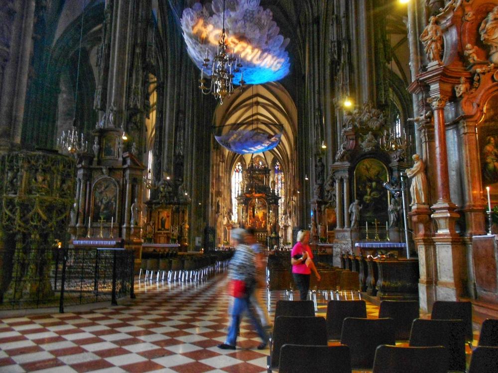 Inside St. Stephen's Vienna Austria