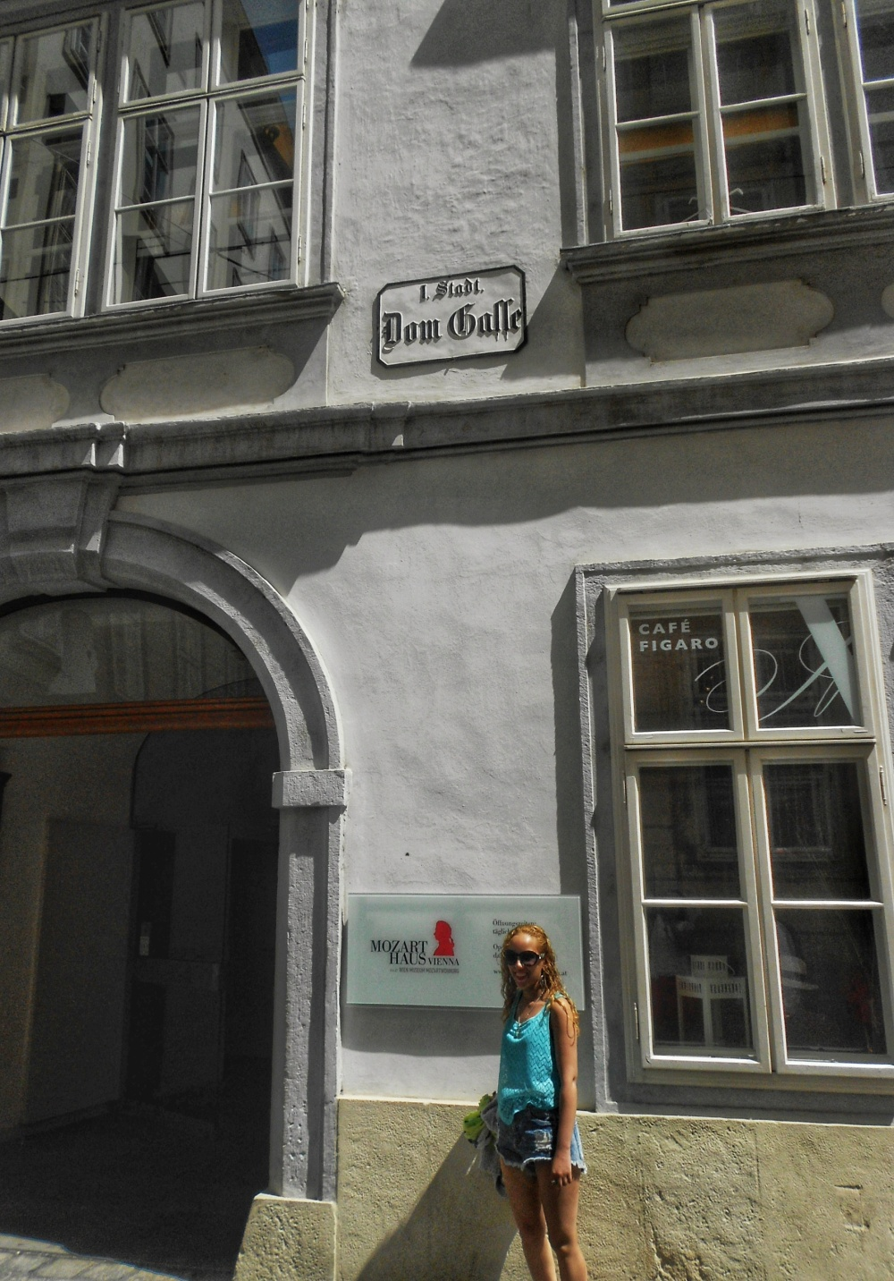 Mozart's house Vienna Austria