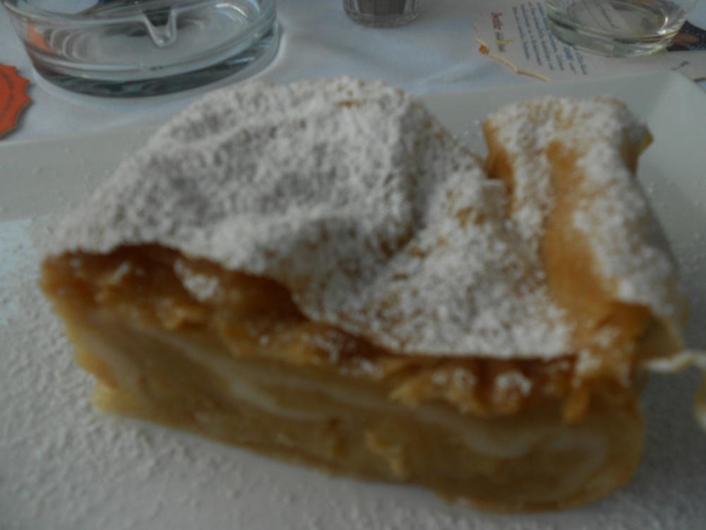 Applestrudel in Vienna