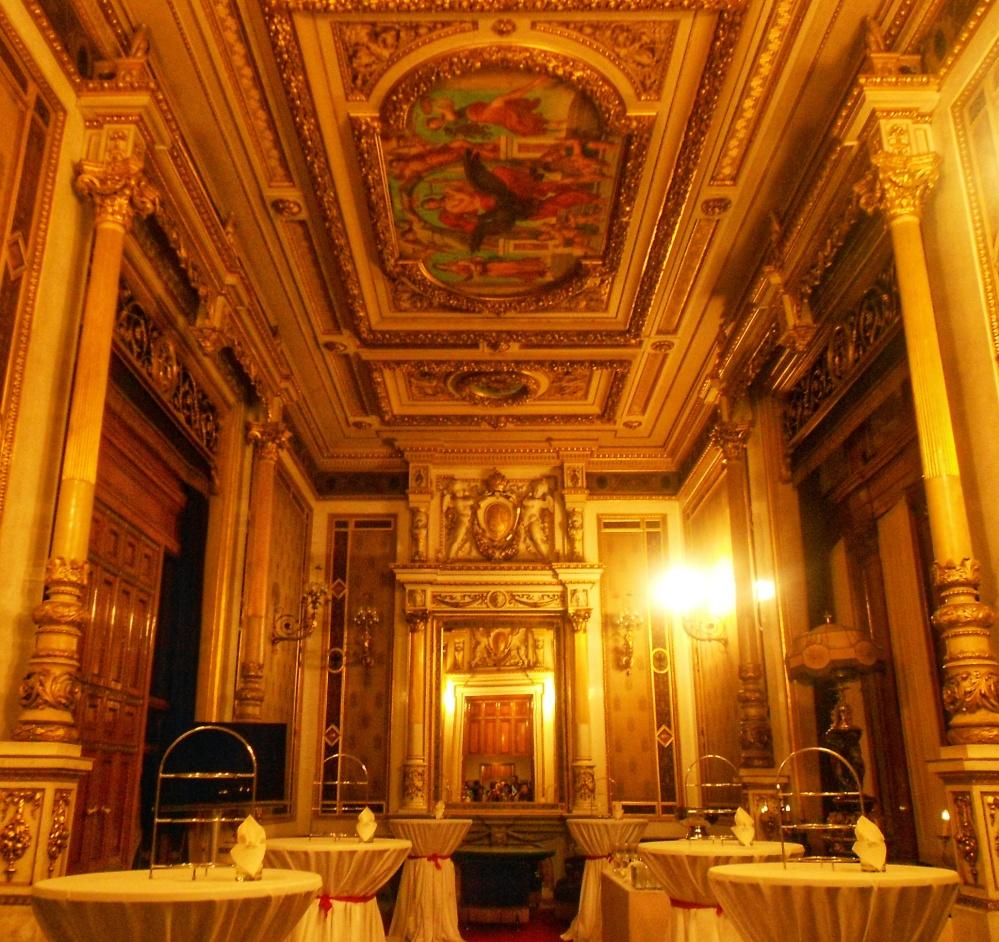 Inside of Vienna's Opera House