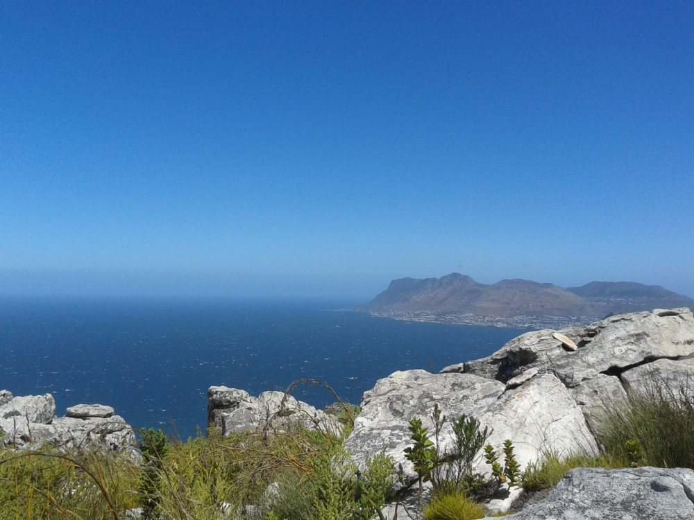 Hiking close to Muizenberg