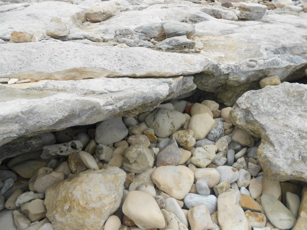 Arniston beach stones