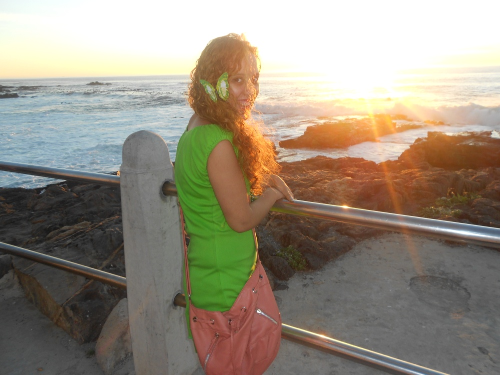 Seapoint Promenade at sunset