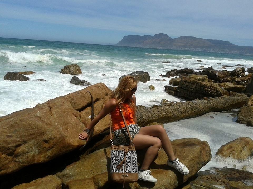 Between Muizenberg and St. James along the walk route