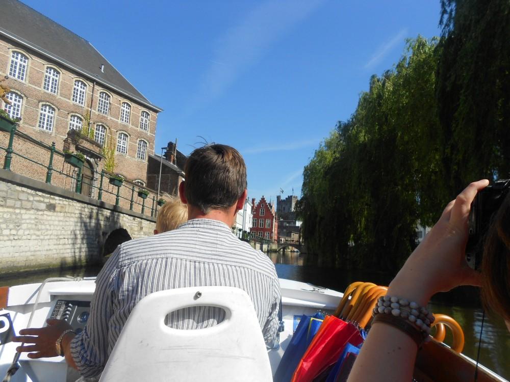 Boat trip in Ghent