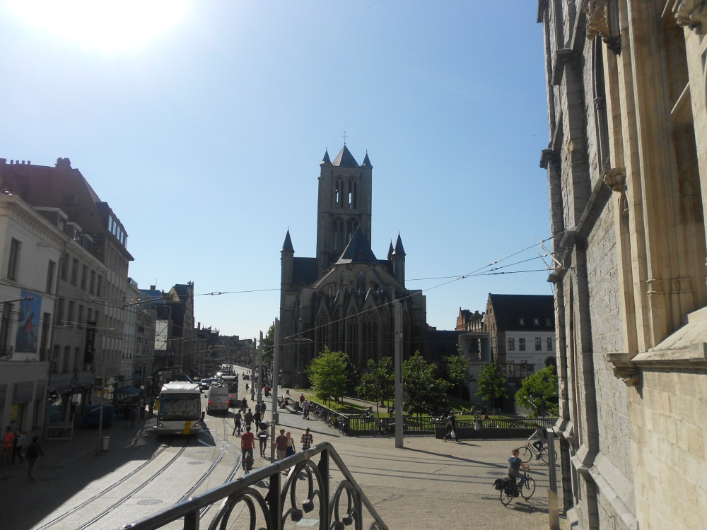 Ghent city centre something beautiful everywhere