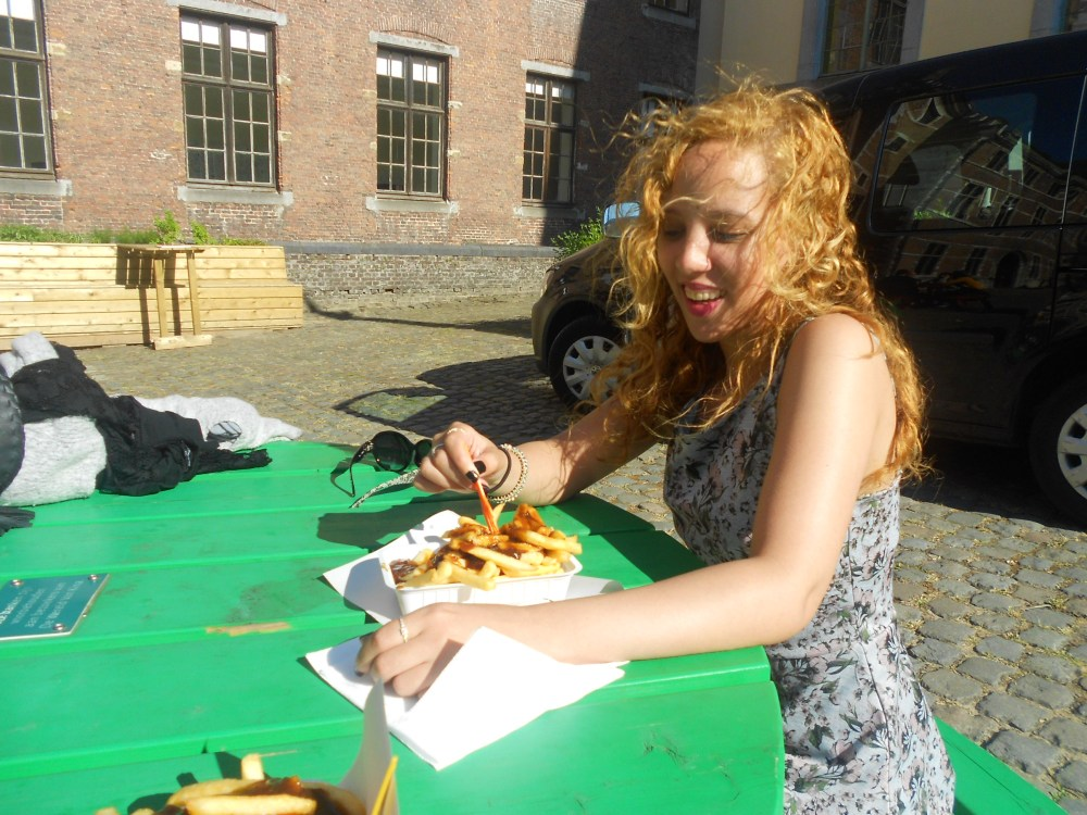Fries in Ghent