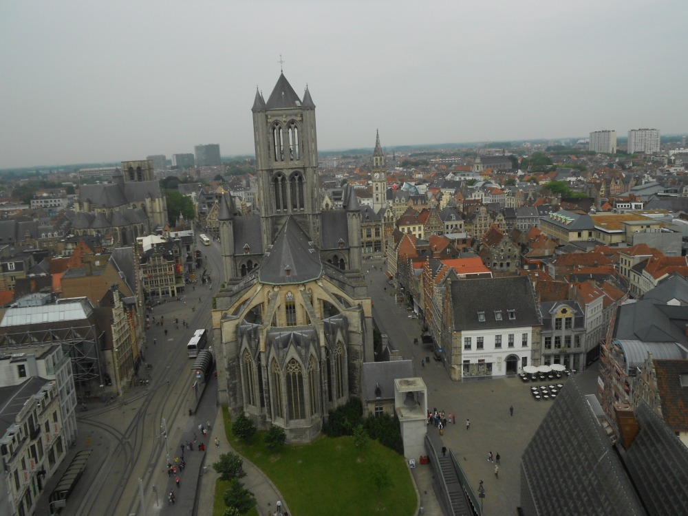View from the Belfry in Ghent