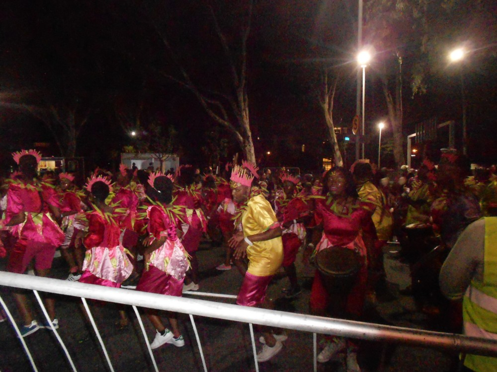 Dancers at Cape Town Carnival 2017