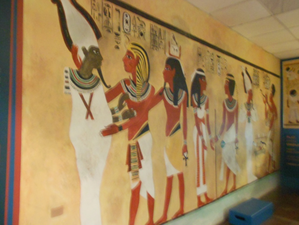 A temporary Egypt exhibition is now at the Slave Lodge Museum in Cape Town