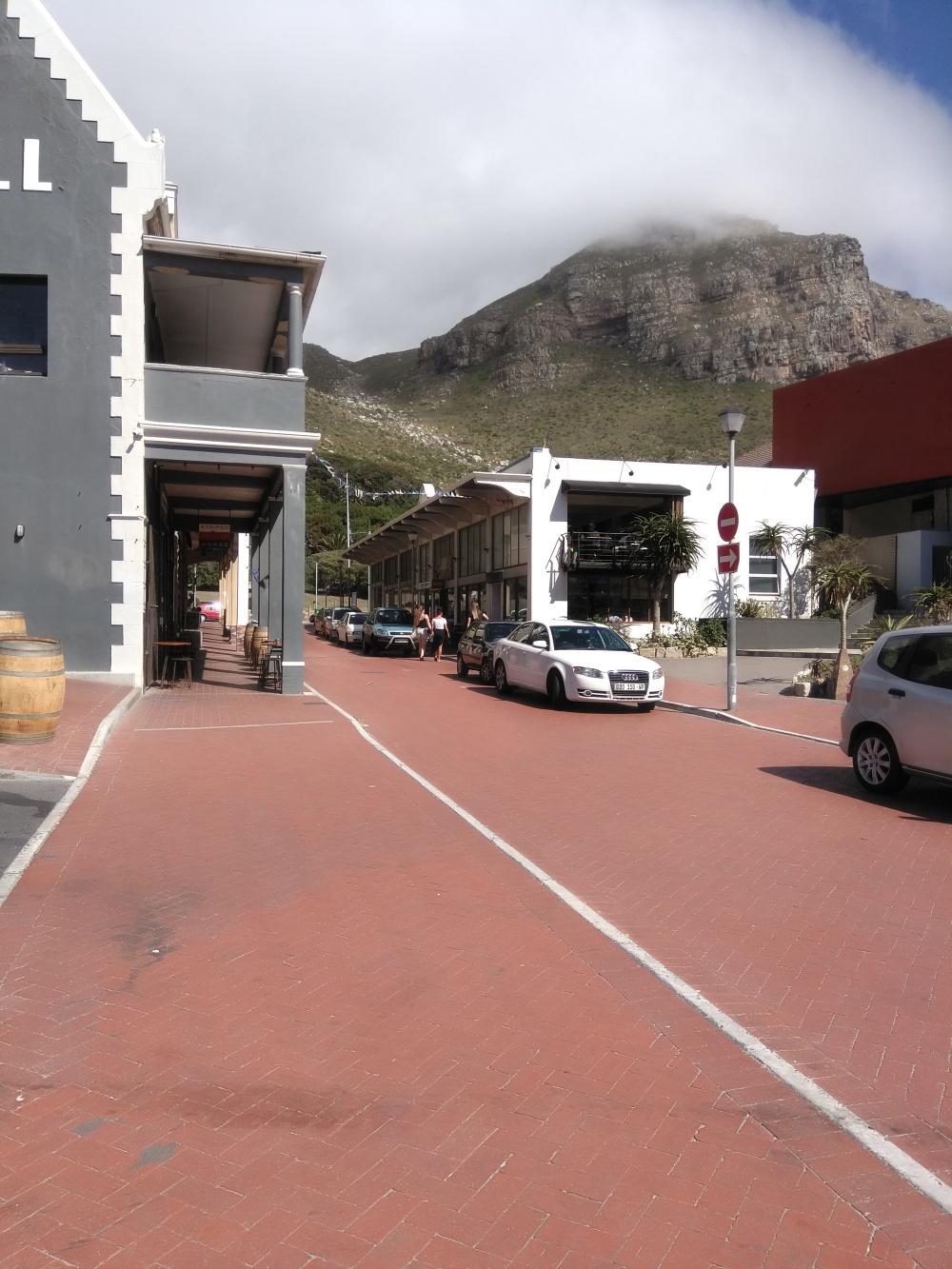 York road in Muizenberg