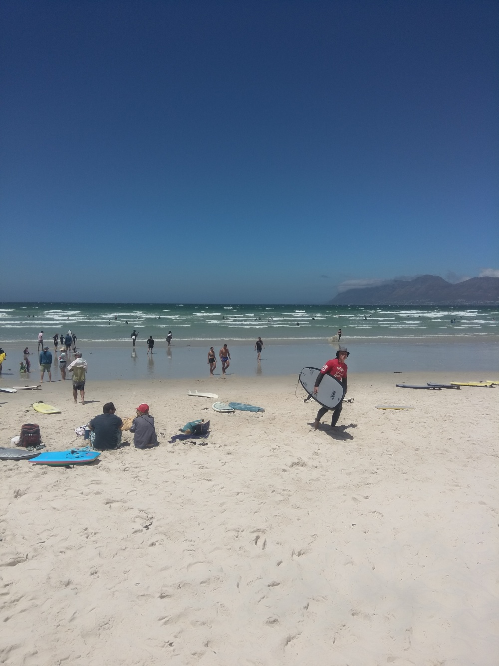 Muizenberg is a great surfing spot
