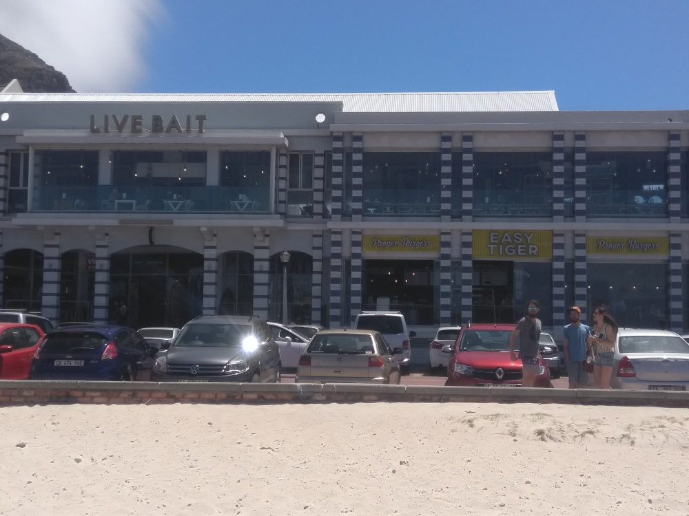 Live Bait and Easy Tiger in Muizenberg