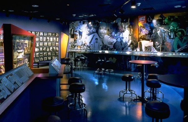 The American Jazz and National Negro baseball Museums are housed together at 18th and Vine in Kansas City Missouri.