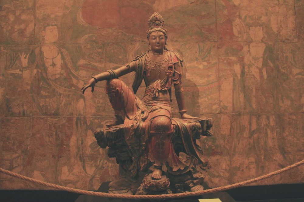 Quan-yin The goddess of compassion.