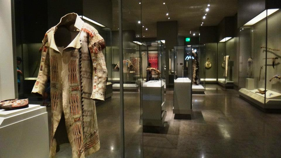 The wing containing Native American Art is one of the newest additions.