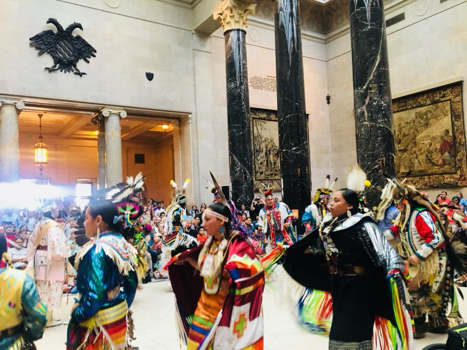 The museum also hosts several annual cultural events including the Chinese New Year, Passport to India festival, The Day of the Dead and the Native American Pow Wow.