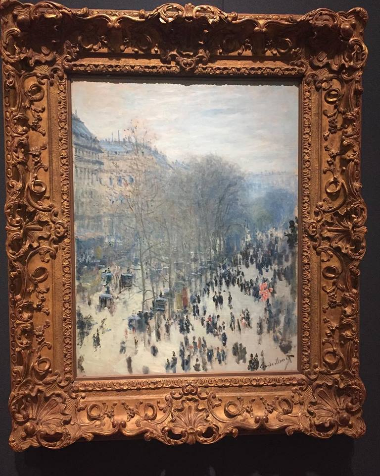 Monet on the Impressionist floor
