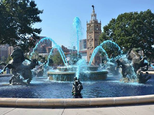 Kansas City has more fountains per square mile than any city in the world except Rome.