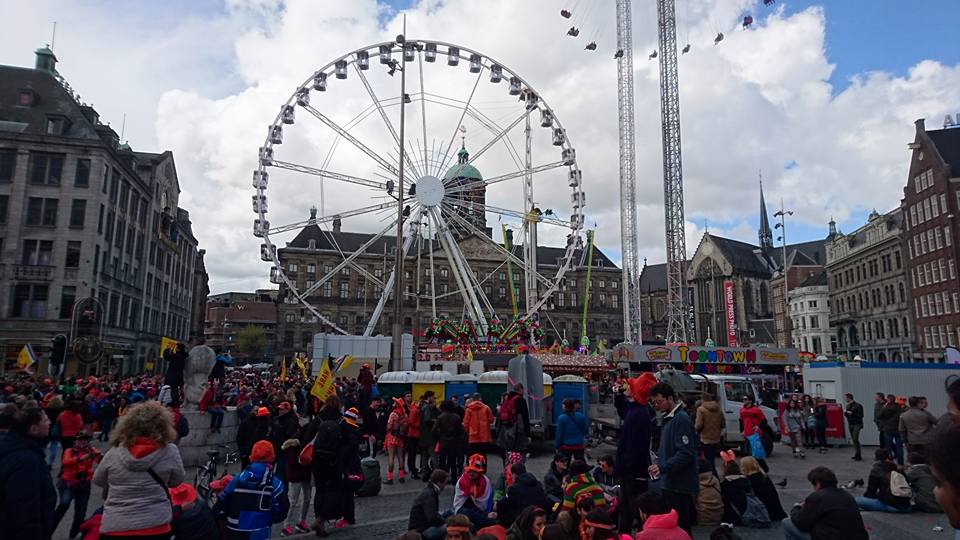 Dam Square or Dam is a town square in Amsterdam