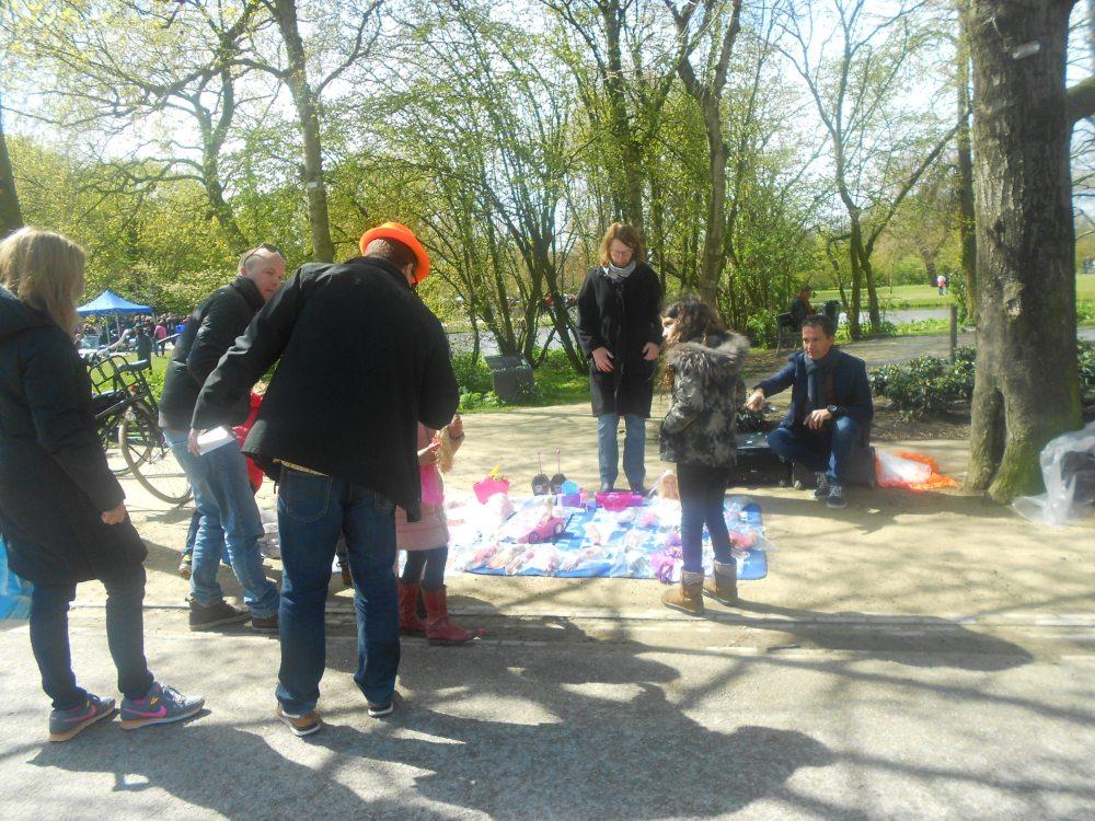 The Children's Market on Kings Day
