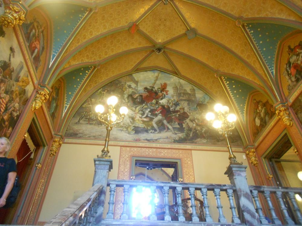 Inside of Drachenburg Castle