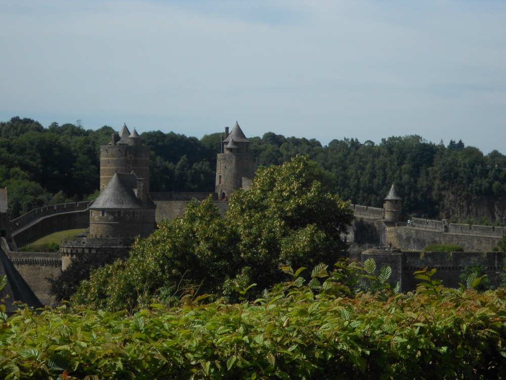 Fougère castle was first mentioned  during the late 10th century