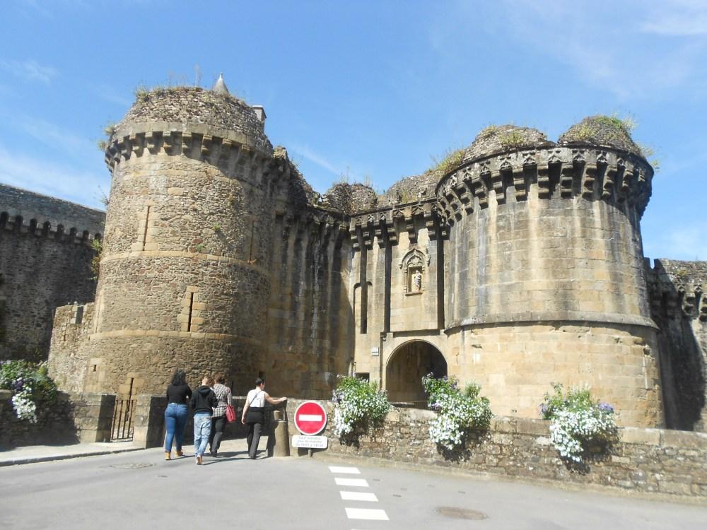 Fougères 10th century castle